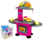Mochtoys Chefs: Bucătărie de jucărie mov-argintiu cu efecte de lumină şi sunet - 78 cm (MT 10500) Bucatarie copii