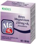 BÉRES Magnézium 250mg+B6 tabletta - 120db