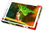 Trefl Zöld esernyő - Béka levéllel 500 db-os (37288)