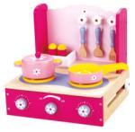 Bino Aragaz pentru copii cu accesorii 83722 (83722) Bucatarie copii