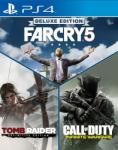 Far Cry 5 Deluxe Edition + Tomb Raider Definitive Edition + Call of Duty Infinite Warfare (PS4)