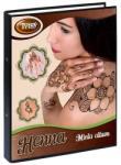 TyToo Henna mappa 4 gyűrűs, A/4 Fekete