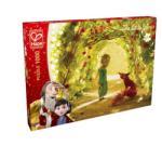 Hape A kis herceg - Rózsakert puzzle - 1000 db-os