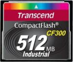 Transcend CompactFlash 512MB CF300 S512MCF300