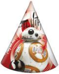 Procos Star Wars: Az Utolsó Jedik papír party kalap 6db-os szett