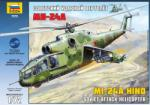 Zvezda Mil Mi-24A Hind 1/72 7273