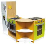 House of Toys - Bucatarioara Din Lemn Modulabila Grand Cuisine (792829) Bucatarie copii
