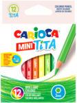 Carioca Carioca: Mini Tita törésálló színes ceruza szett 12db-os (42323)