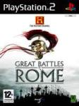 Black Bean The History Channel: Great Battles of Rome (PS2) J�t�kprogram