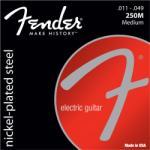 Fender Super 250M Nickel Plated Steel, 011-049 - hangszeraruhaz