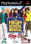 Disney High School Musical Sing It! (PS2) Játékprogram