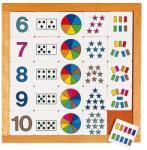 Educo Joc educativ pentru gradinita Diagrama de la 6 la 10