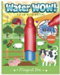 Eurekakids Carte colorat apă magică - Ferma animalelor