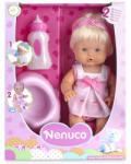 Famosa Nenuco: Pisilő kislány baba bilivel 30 cm