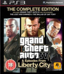 Rockstar Games Grand Theft Auto IV Episodes from Liberty City [The Complete Edition] (PS3) Játékprogram