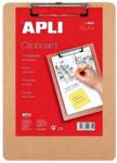 APLI Clipboard simplu lemn A4 APLI
