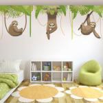 BeKid Sticker decorativ Lenesi I - 288 x 96 cm Decoratiune camera copii