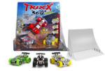 Regio Játék Trixx 360° kisautó egyenes rámpával 3 darabos szett - többféle (32413)