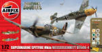 Airfix Supermarine Spitfire MkIa vs Messerschmitt Bf109E-4 (1:72)