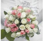 VR AMB. 13310200 Wedding Bouquet papírszalvéta 33x33cm, 20db-os