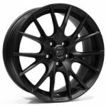 MSW 25 Matt Black CB63.4 5/108 17x8 ET45