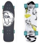 "Fish Skateboards Old School Cruiser 28"""