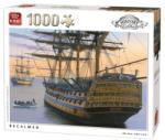 King A HMS Victory nyugodt vizeken 1000 db-os (05620)