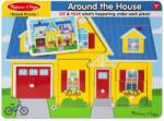 Melissa & Doug A ház körül hangos puzzle (K-10734)
