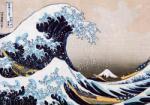 EUROGRAPHICS Hokusai - Great Wave of Kanagawa 1000 db-os (6000-1545)
