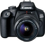 Canon EOS 4000D + EF-S 18-55mm III + 75-300mm Aparat foto