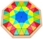 Tooky Toy Nyolcszögletes fa puzzle (TKG038)