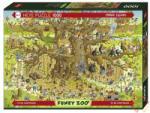 Heye Funky Zoo - Monkey Habitat, Degano 1000 db-os (29833)