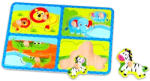Tooky Toy Dzsungel fa forma puzzle (TY059)