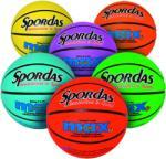 Megaform Spordas Max Basketball kosárlabda élénk színekben 5-ös méret