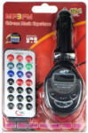 FM Трансмитер FM09/KD-201, с букса за авто запалка, SD/MMC карти, USB, micro SD, AUX вход, чете MP3