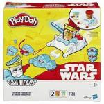 Hasbro Jucarie Play-Doh Star Wars Can-Heads Luke Skywalker And Snowtrooper Play Set (27223)