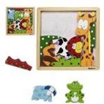 Playshoes Joc Puzzle Din Lemn Animale (xr380609) Puzzle