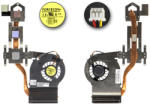 Forecon Dell Inspiron 1750 gyári új hűtő ventilátor egység (RJNY4, DFS531205MC0T)