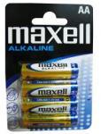 Maxell Baterii Alkaline Maxell AA 1.5V 4 bucati