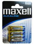 Maxell Baterii Alkaline Maxell AAA 1.5V 4 bucati