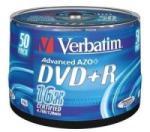 "Verbatim Blank Dvd+R Verbatim Sl 16x 4.7gb 50pk Spindle Matt Silver ""43550"" (43550)"