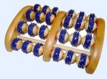 Sundo Homecare Fa talpmasszírozó két lábas 4 x 6 görgős - gyogyaszatishop