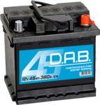 D.A.B 45Ah 380A Jobb+