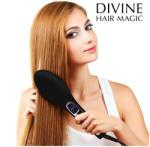 Divine Hair Magic Brushture Placa de intins parul