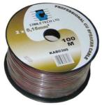 Cabletech Cablu difuzor rosu/negru 2x0.20mm cupru 1m Cabletech (KAB0301)