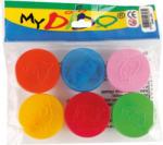 MyDido vödrös színes gyurma 90g-os, 6x15 g