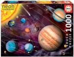 Educa Naprendszer - világító puzzle 1000 db-os (14461)