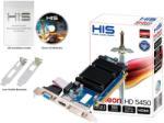 HIS Radeon HD 5450 Silence 1GB GDDR3 64bit PCIe (H545HR1G) Placa video