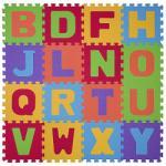 BabyOno Betűk szivacs szőnyeg puzzle 16 db-os (280)