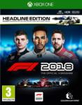 Codemasters F1 Formula 1 2018 [Headline Edition] (Xbox One) Játékprogram